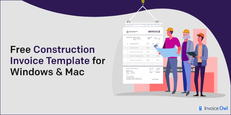 Free Construction Invoice Templates In Word Excel Pdf