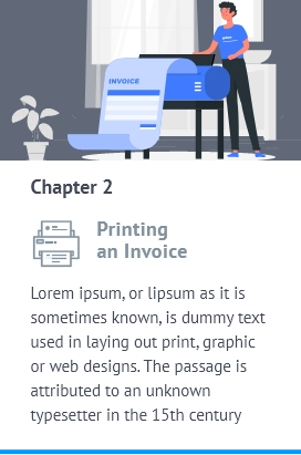 printing an invoice