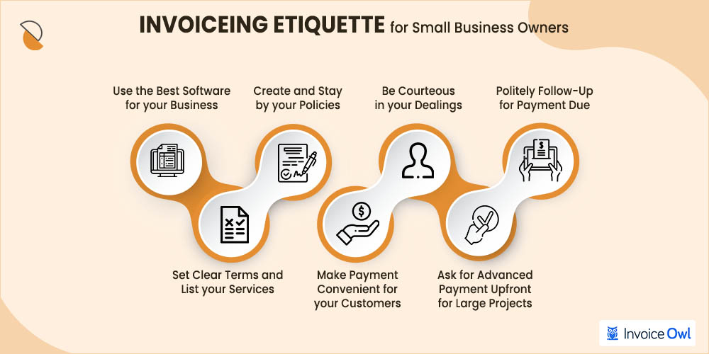 7 invoice etiquette for small business owners
