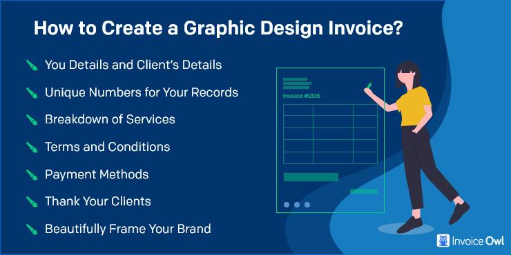 How to Freelance Graphic Design Invoice?