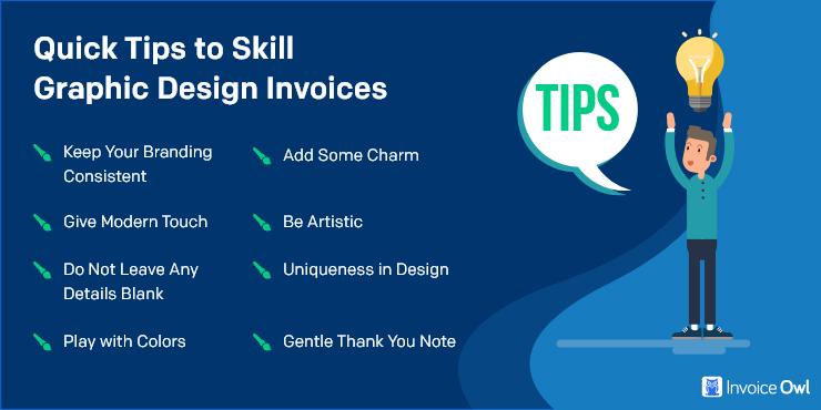 Quick Tips to Skill Graphic Design Invoices