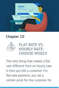flat rate vs hourly rate