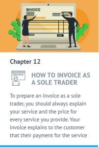 Sole trader invoice