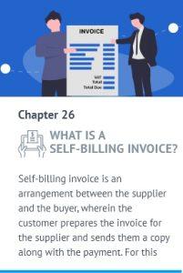self billing invoice