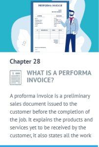 performa invoice