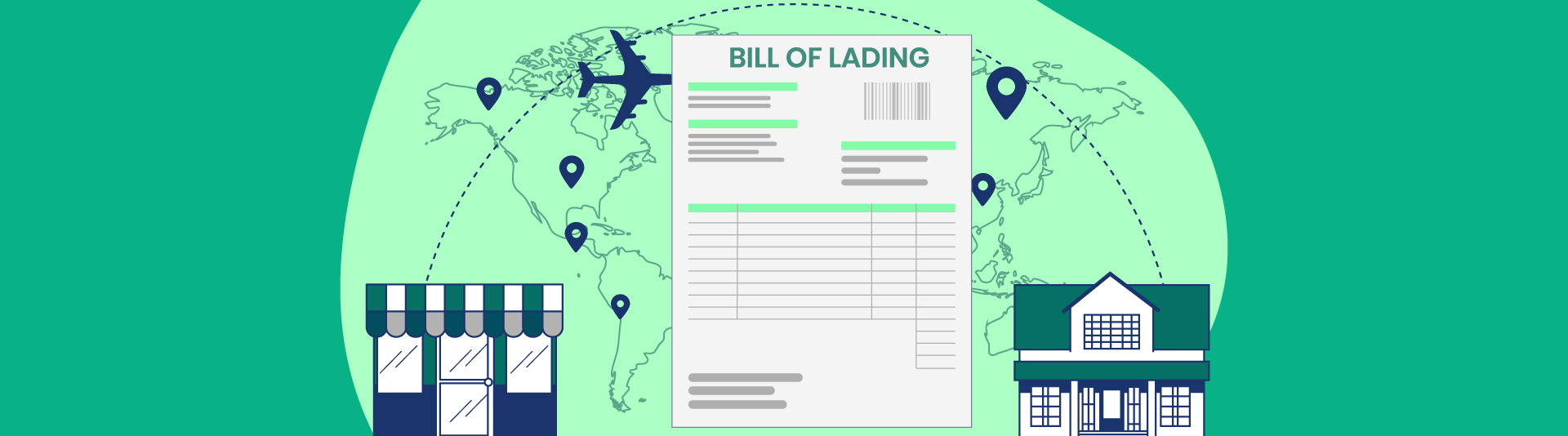 what is a shipping invoice