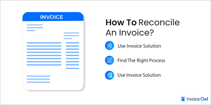 How To Reconcile an Invoice?