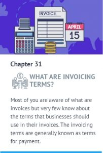 invoice terms