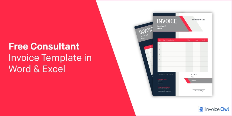 Best Free Consultant Invoice Template In Word Excel