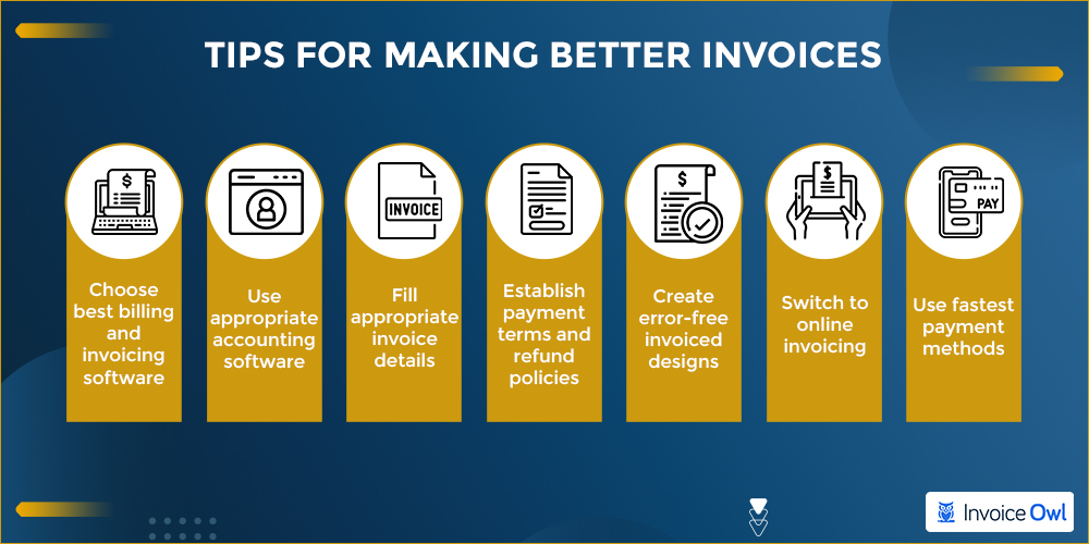 Tips for making better invoices