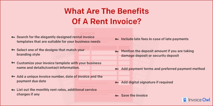 What are the Benefits of a Rent Invoice?