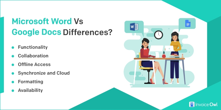 Microsoft Word vs Google Docs: What are the Differences?