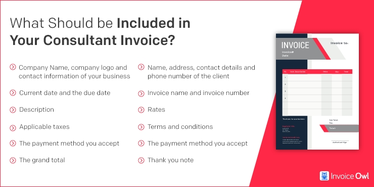What Should be Included in Your Consulting Invoice Template?