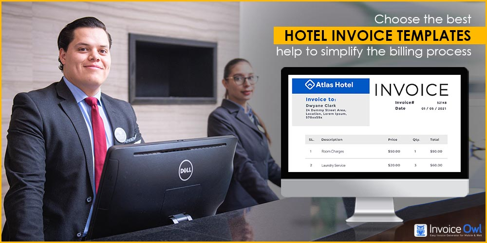 Choose the best hotel invoice templates