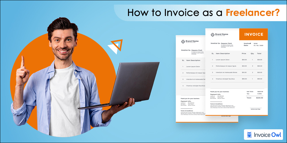 how to invoice as a freelancer