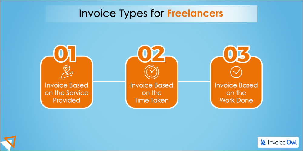 Types of freelance invoices