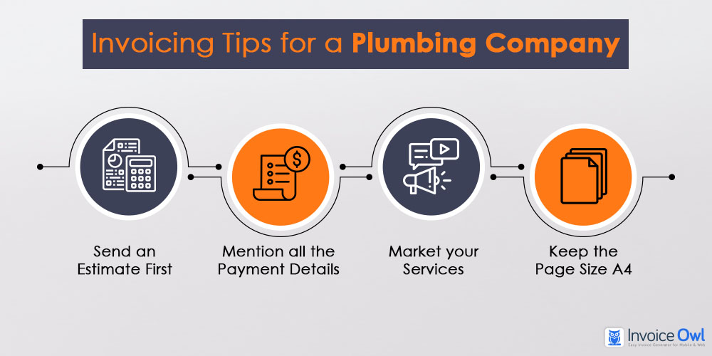 Invoicing tips for plumbing company