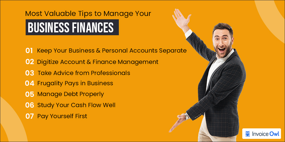 Most valuable tips for small business owners to manage their finances successfully
