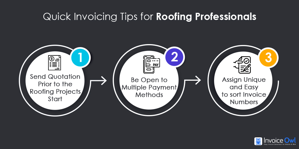Quick Invoicing Tips for Roofing Professionals