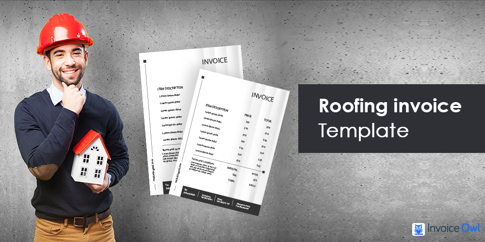 Roofing Invoice Template