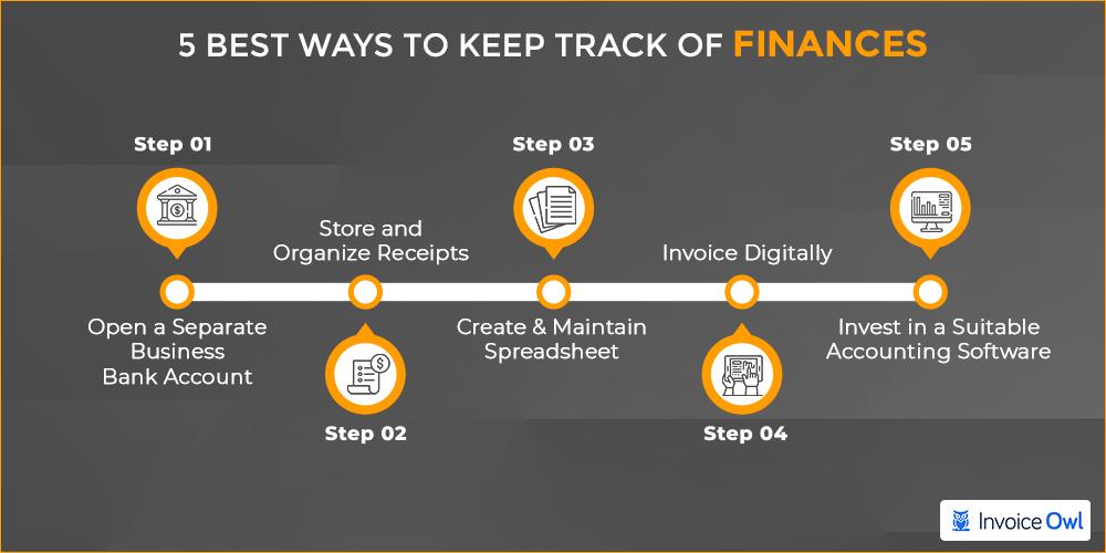 5 best ways to keep track of finances
