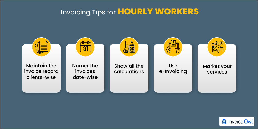 5 Invoicing tips for hourly work