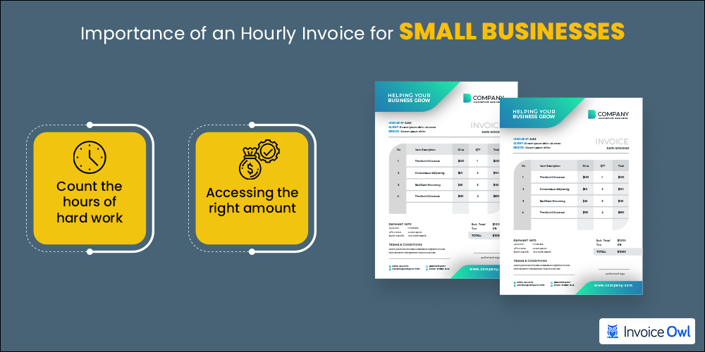 Importance of an hourly invoice for small business