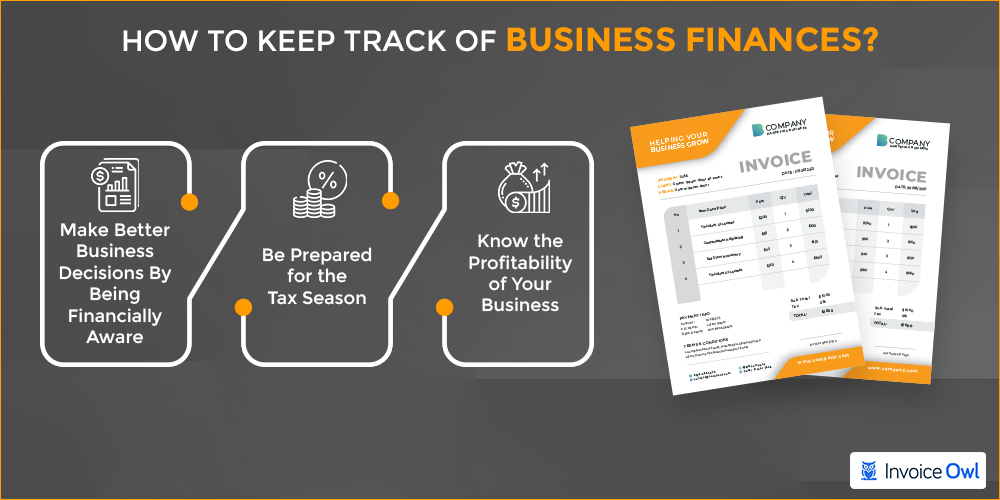 How to keep track of business finances