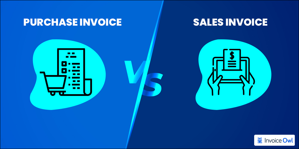 Difference between purchase invoice and sales invoice