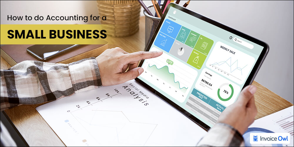 how to do accounting for a small business