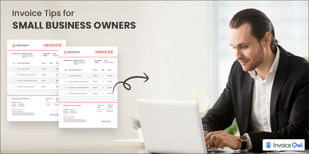 invoice tips for small business owners
