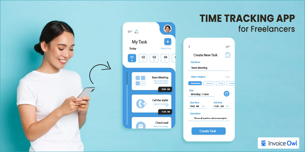 time tracking & invoicing for freelancer
